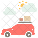 Camping Car Travel Icon