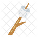 Camping Marshmallows Outdoor Icon