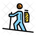 Camping Hiking Expedition Icon