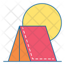 Camping Camp Adventure Icon