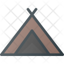 Camping Tent Camp Icon
