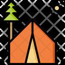 Camping Vacation Holiday Icon