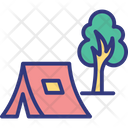Camping Forest Outdoor Icon