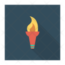 Camping Light Torch Icon