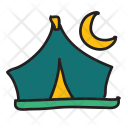 Camping Tent Adventure Icon
