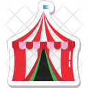 Camp Tent Tourism Icon