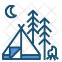 Camping Campsite Tent Icon
