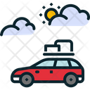 Car Travel Holiday Icon