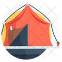 Camping Campsite Outdoor Shelter Icon
