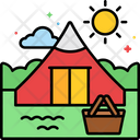 Mkids Camp Camping Camp Icon