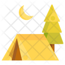 Camping Tent Holiday Icon