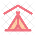 Camping Tent Indoor Icon