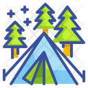 Camping Camp Outdoors Icon