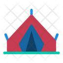 Camping Tent Travel Icon