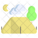 Camping Nature Forest Icon