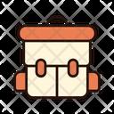 Camping Bag Tourist Bag Travel Bag Icon