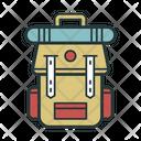 Camping Bag Icon