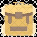 Camping Bag Tourist Bag Travelling Bag Icon