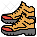 Camping Boot Training Icon