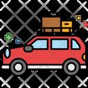 Mcar Camping Camping Car Traveling Car Icon
