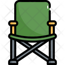 Camping Chair Outdoor Icon