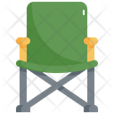 Camping Chair Camp Icon