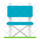 Camping Chair Picnic Adventure Icon