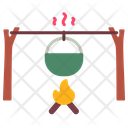 Fire Cooking Pot Icon