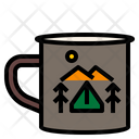 Camping Drink Icon