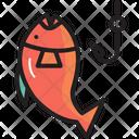Campingfish Fishing Camping Icon