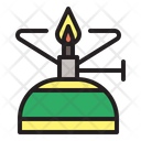 Camping Gas Cooking Tool Icon