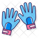 Camping Gloves Icon