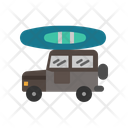 Camping Jeep Icon