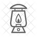 Camping Lantern Icon