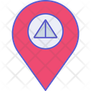 Camping Location Camping Ground Icon