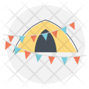 Camping Party Icon