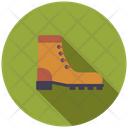 Camping Shoes Safety Shoes Boot Icon