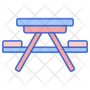 Mcamping Table Icon