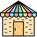Camp Tent Summer Icon