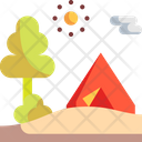 Camping Tent Camping Tent Icon