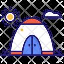 Camping Tent Advanture Camp Icon