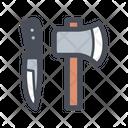 Camping Tool Advanture Tool Knife Icon