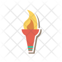 Camping torch Icon