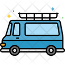 Mcamper Camping Van Mini Bus Icon