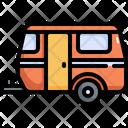 Camping Van Adventure Icon