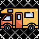 Camping Van Camper Icon