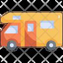 Camping Van Camp Icon