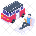 Camping Van Icon