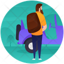 Camping Vehicle Icon