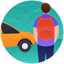Camping Vehicle Convency Cab Icon